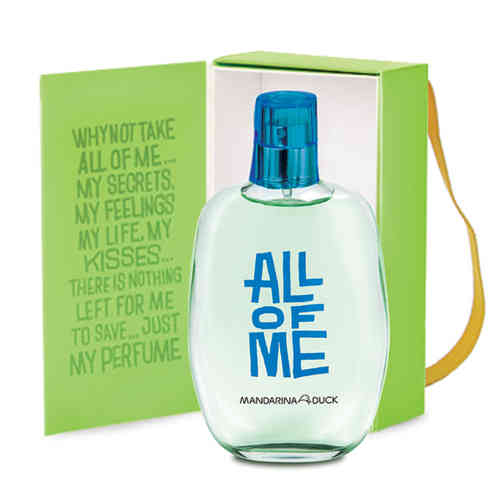 MANDARINA DUCK ALL OF ME MAN EAU DE TOILETTE VAPORIZADOR