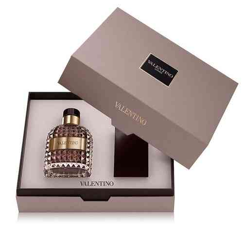VALENTINO UOMO COFRE EDT VAPORITZADOR 100ml + AFTER SHAVE BALSAM 100ml